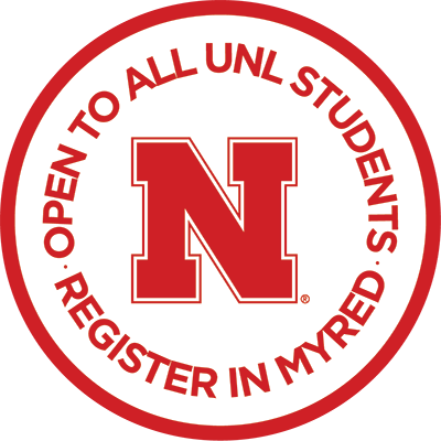 Open to All UNL Students. Register in MyRed.