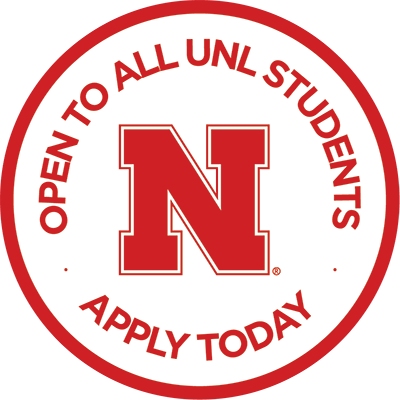 Open to All UNL Students. Apply Today.