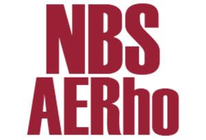 NBS AERho logo: links to NBS AERho page