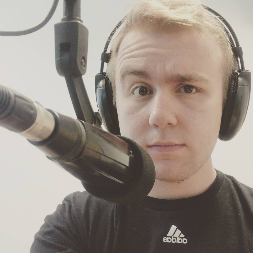 Photo of student in studio