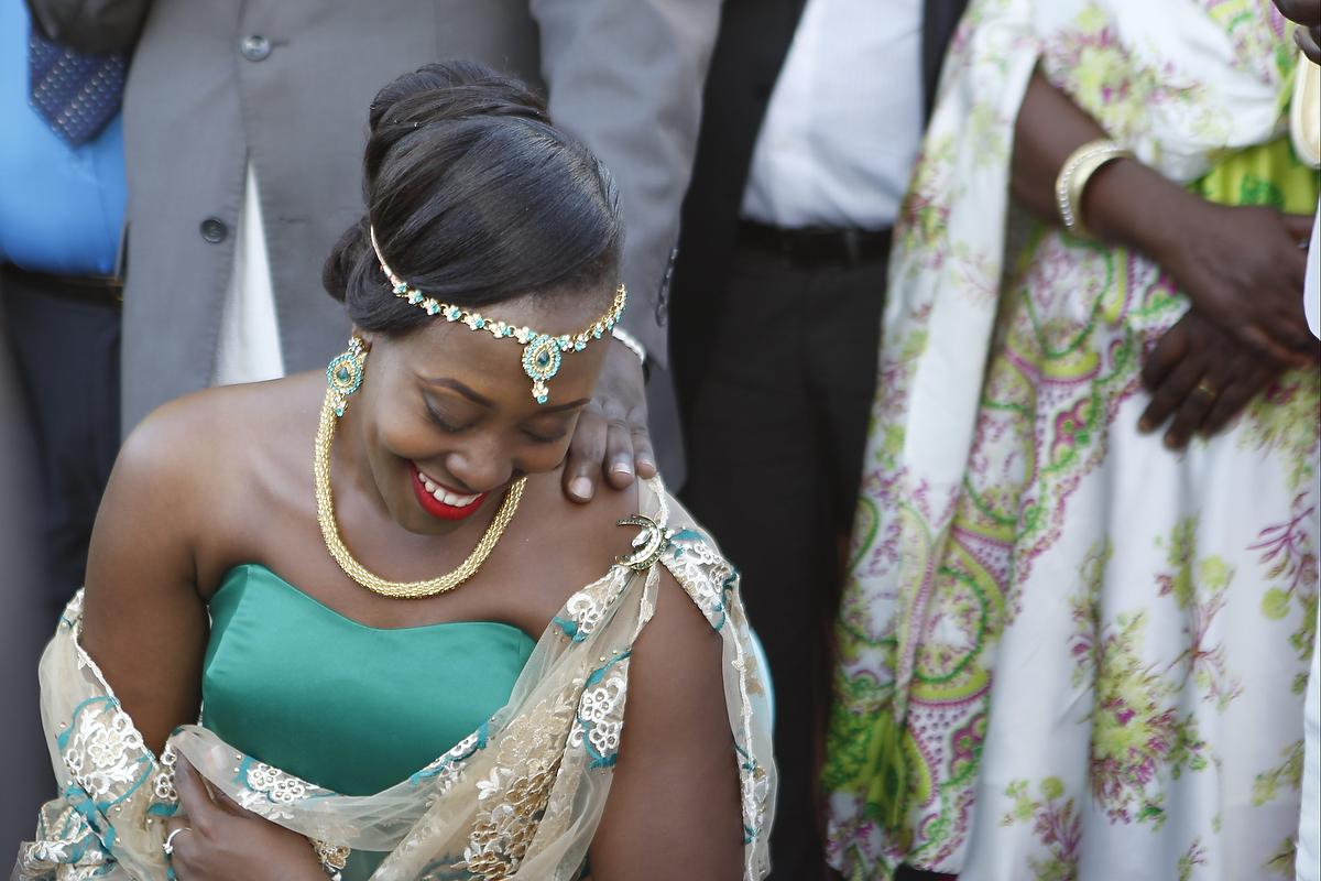 Bride Isabella Katwesigye