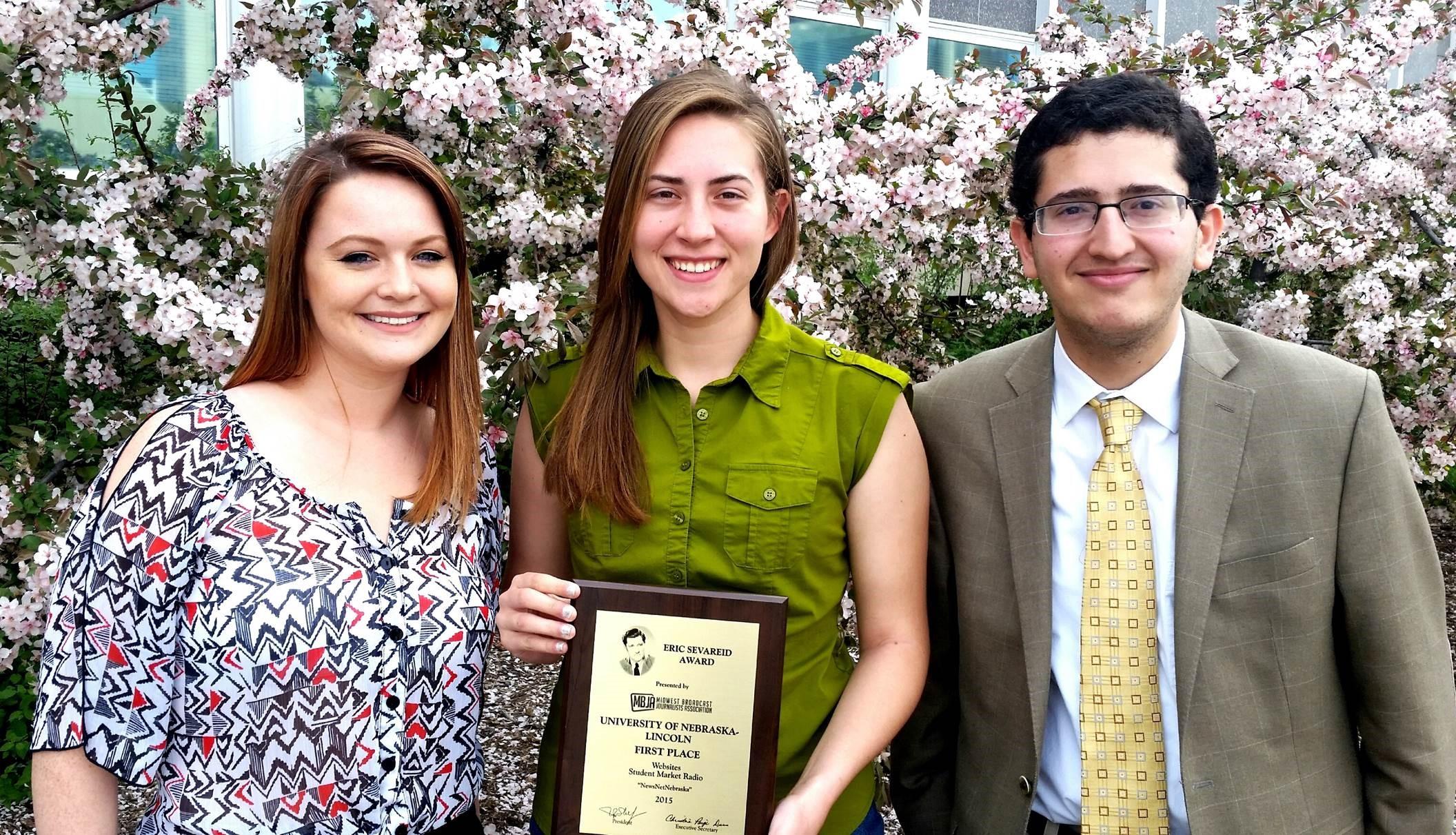 CoJMC students receive Eric Sevareid Awards: links to news story