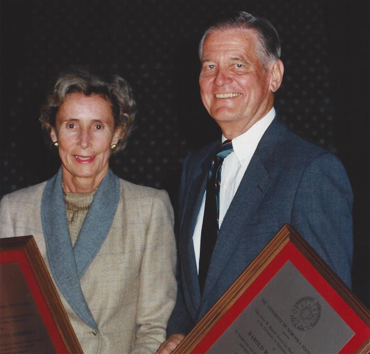Marian Andersen and her husband Harold