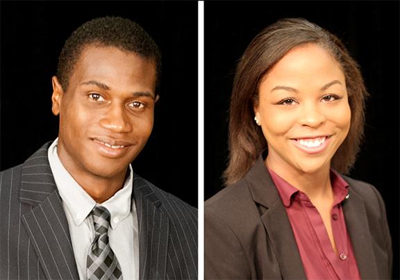 Miles Ukaoma and Maritzka Hayes