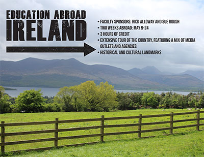 Education Abroad: Ireland poster