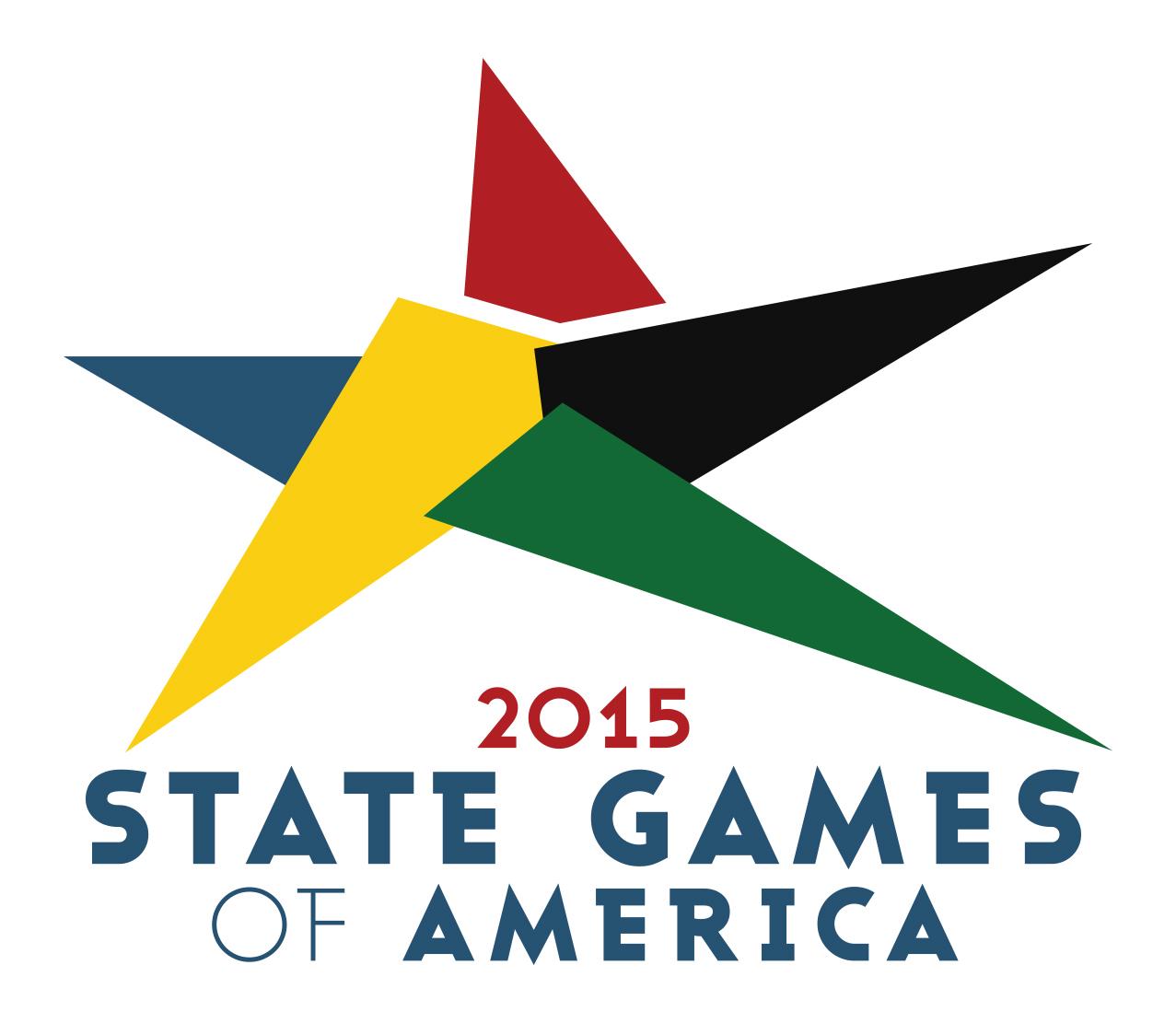 State Games of America 2015 logo