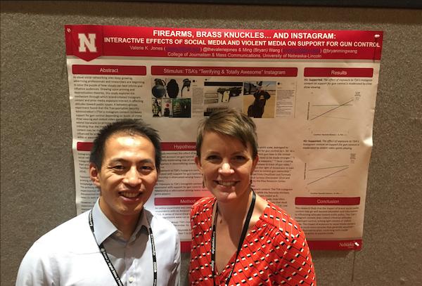 Bryan Wang and Valerie Jones