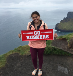 CoJMC student traveling abroad