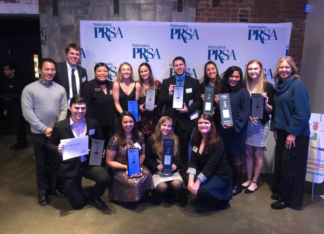PRSSA team