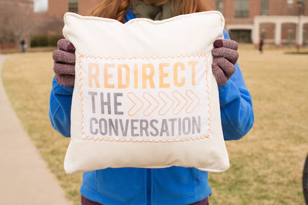 Redirect the conversation logo