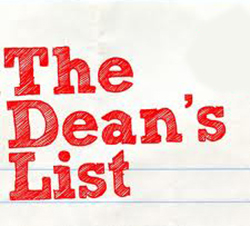 The Dean's List logo