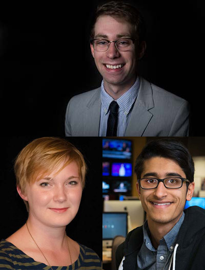 Chris Heady, Mara Klecker, and Faiz Siddiqui