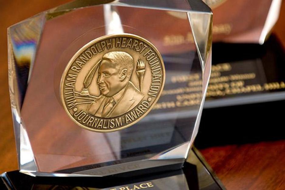 Hearst award photo