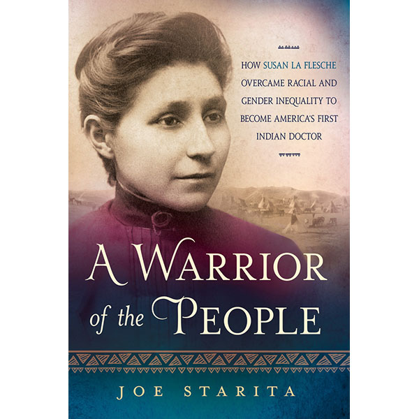 Cover of book showing a photo of Susan La Flesche