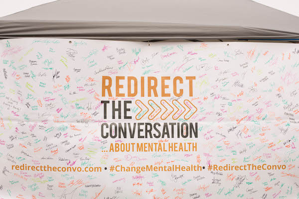 The team hung a poster at its events that students could sign saying they will redirect the conversation.