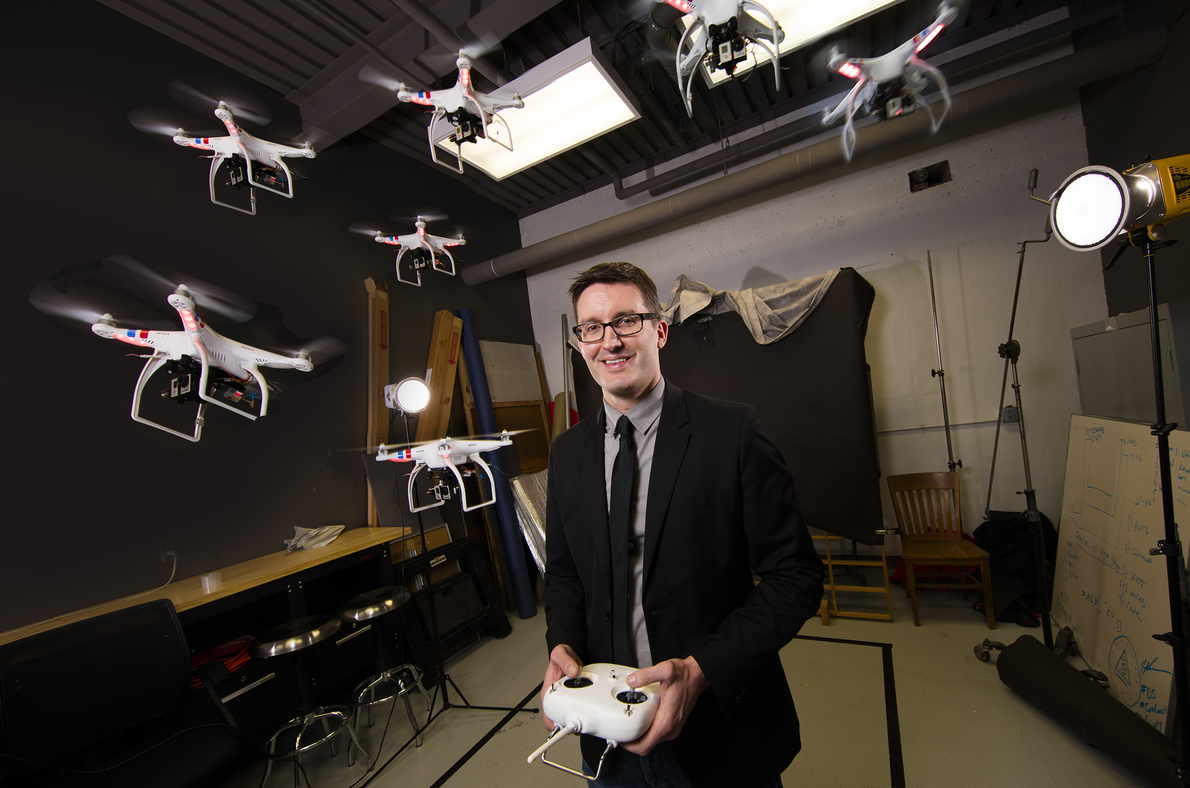 Professor Matt Waite will be leading the Drone Journalism Boot Camp