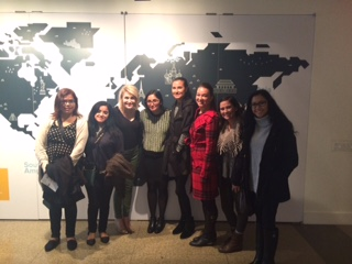 CoJMC students visit Charity Water in NYC