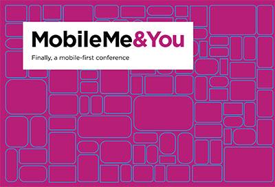 Mobile Me & You postcard