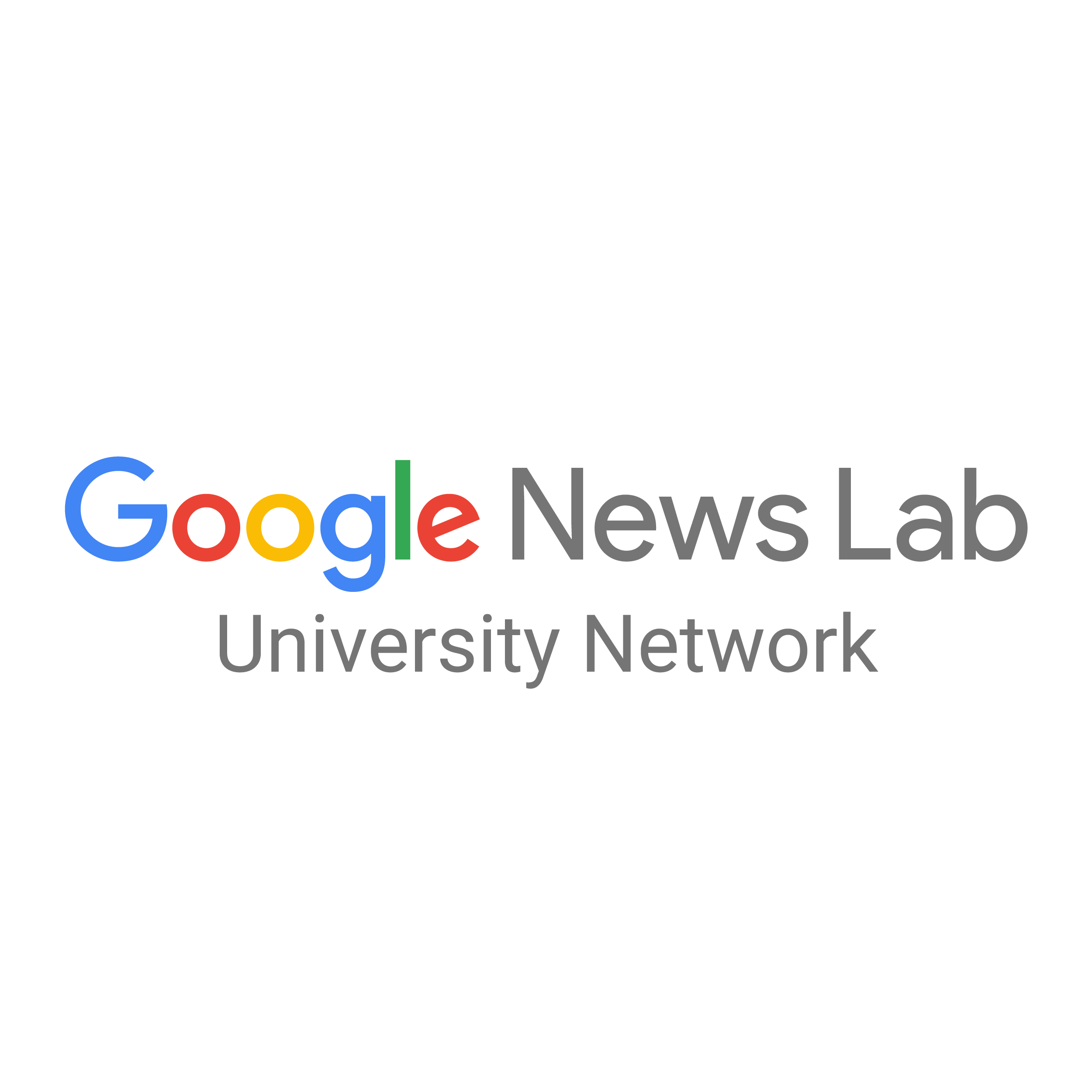 Google News Lab University Network logo