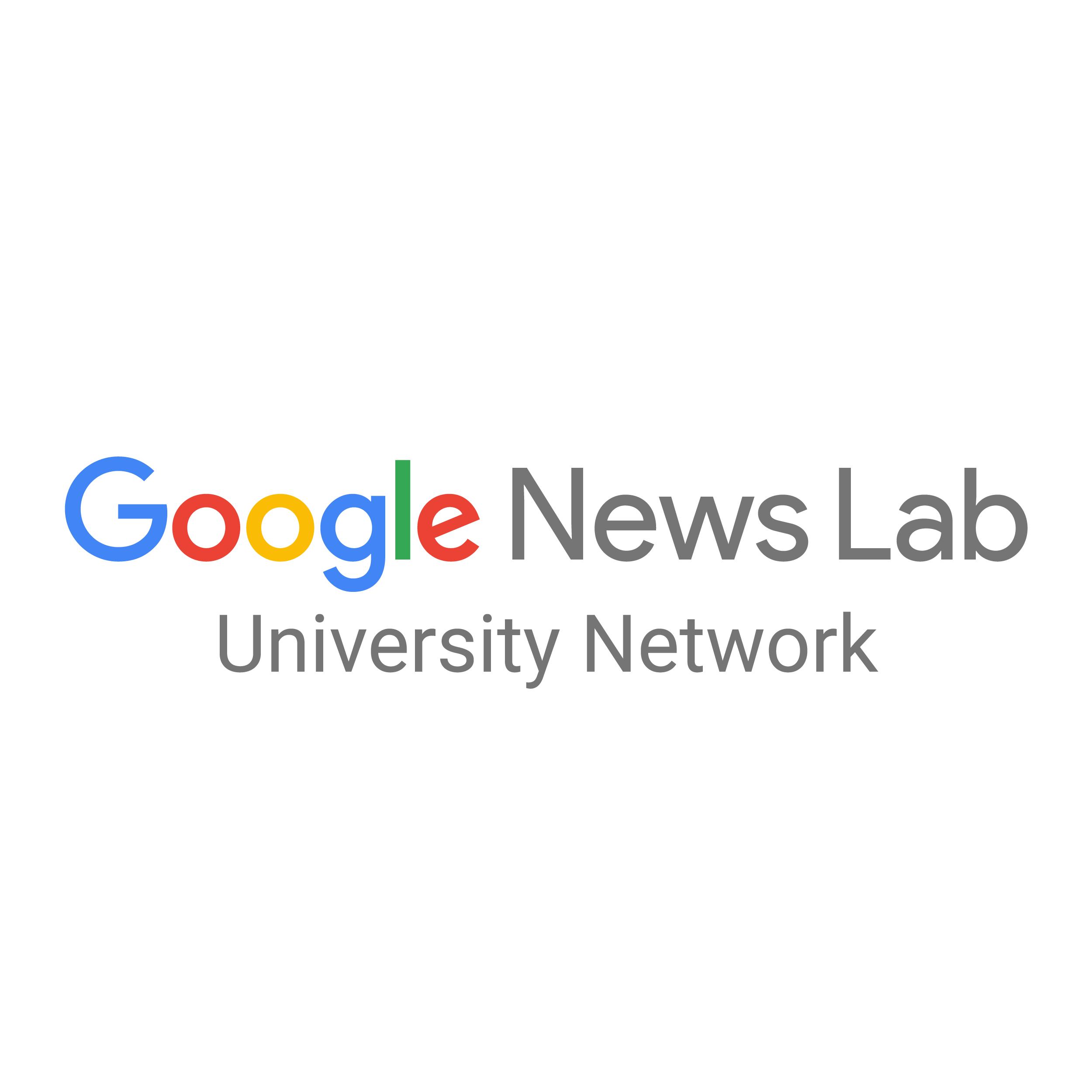 Google News Lab University Network logo