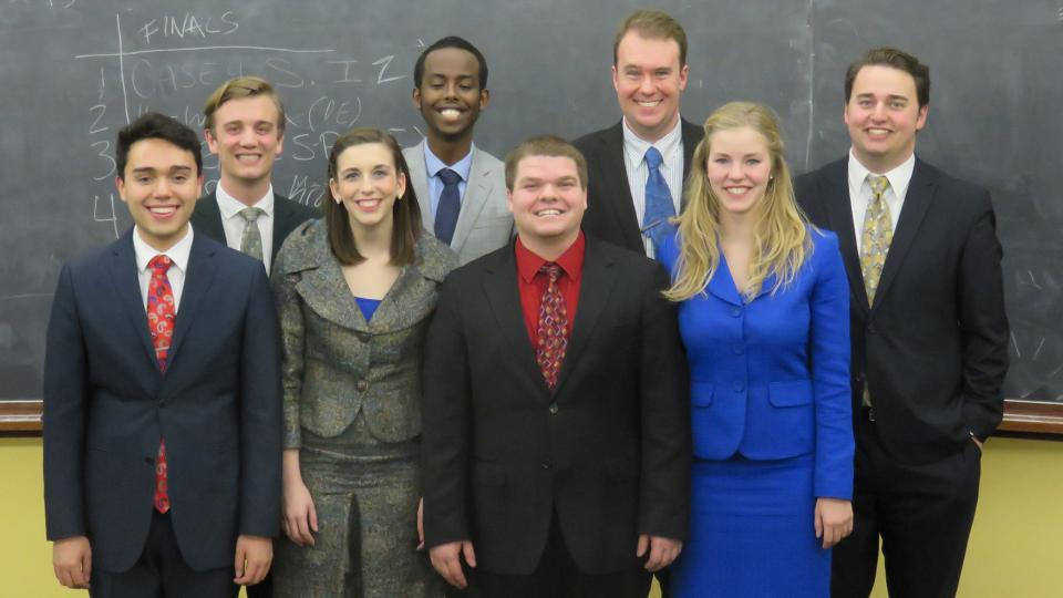2015 UNL Speech and debate team