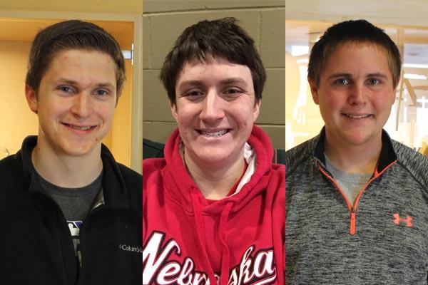 Tommy Rezac, Zach Penrice, and Kellan Heavican: links to news story