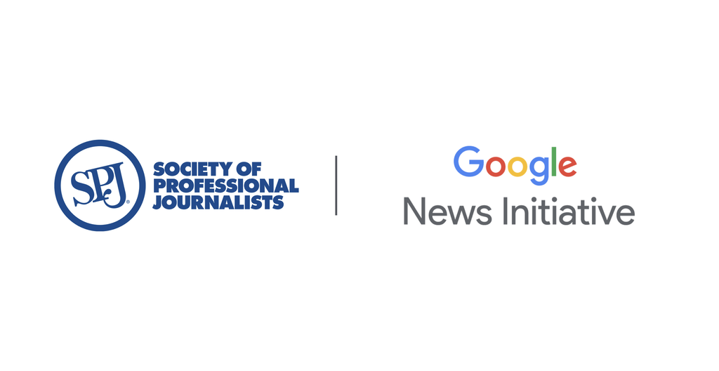 SPJ and Google Logos