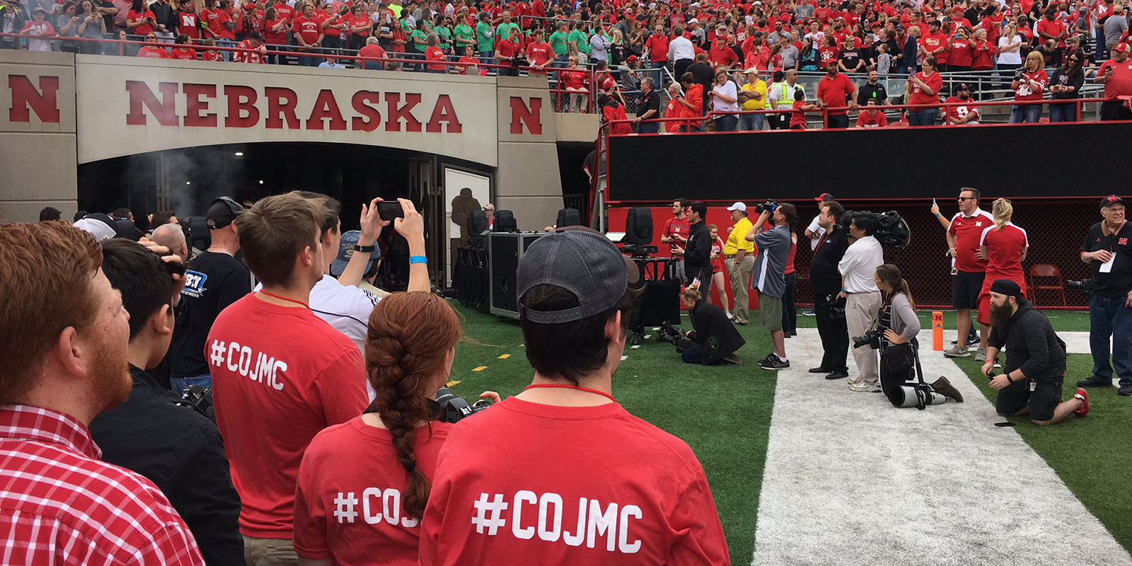 The spring game gets underway with plenty of CoJMC presence
