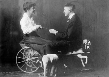 George and Eva Grimes