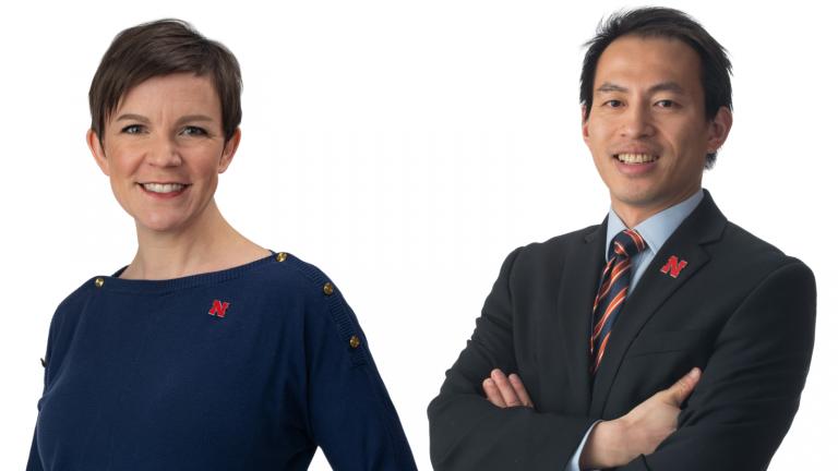 Valerie  Jones and Bryan Wang