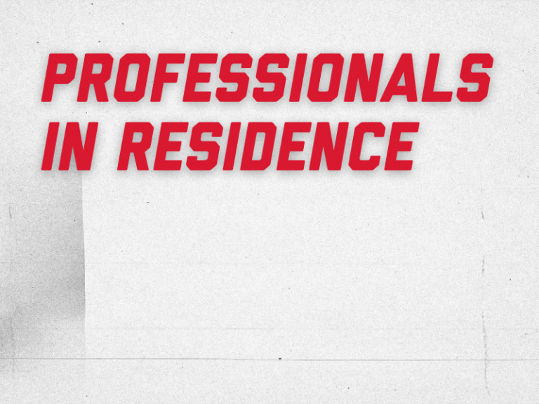 professionals in residence graphic