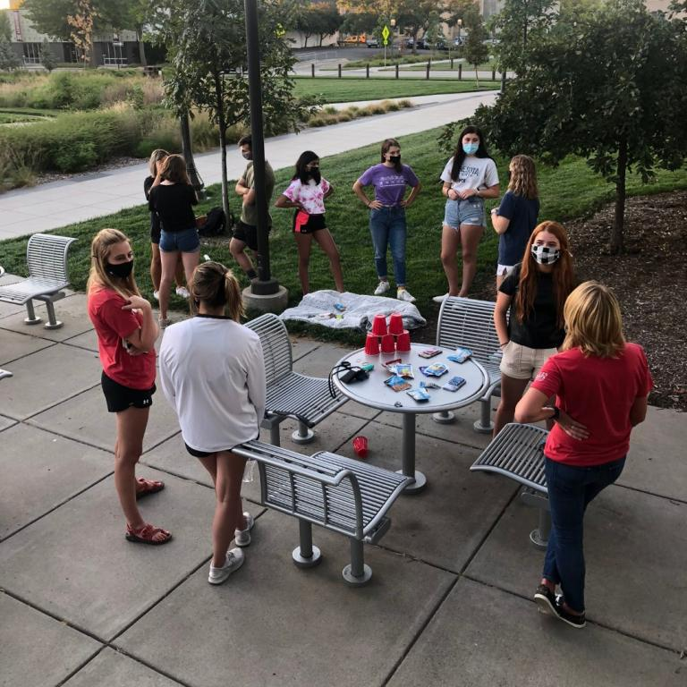 The Circle's first meeting outside Andersen Hall